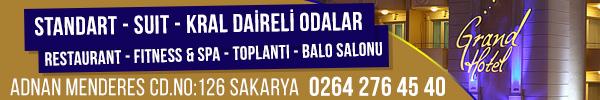 Sakarya Grand Hotel - Konforun Sakarya'daki Adı...