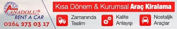 Anadolu Rent A Car - Kısa Dönem & Kurumsal Araç Kiralama