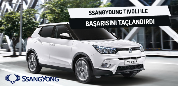 SsangYong Tivoli başarısını taçlandırdı!