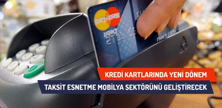 Taksit esnetme mobilyada kayıt dışılığı azaltacak