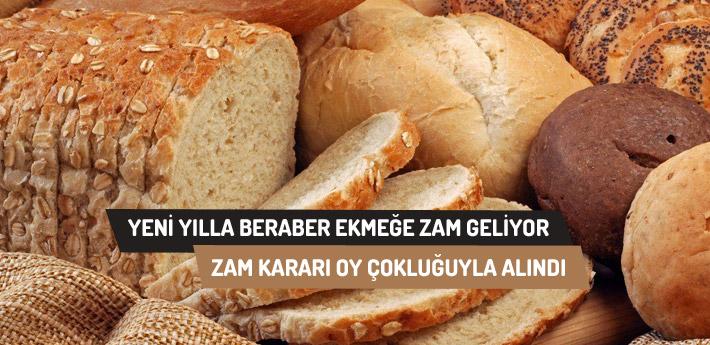 1 Ocak'tan itibaren ekmeğimiz zamlanıyor