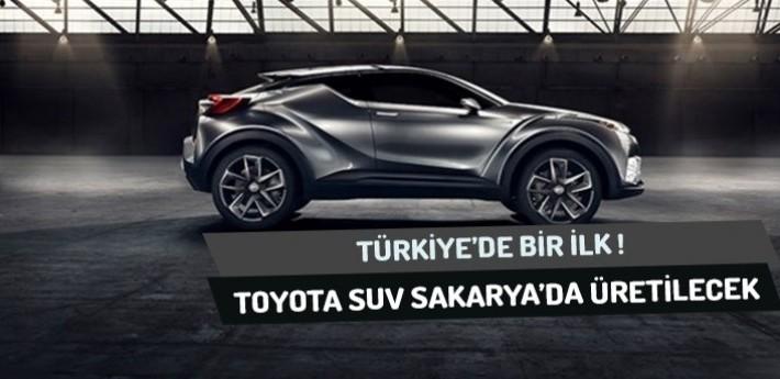 Türkiye'nin İlk SUV Otomobili Sakarya'da Üretilecek