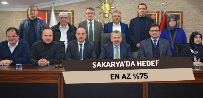 Sakarya'da Hedef : En Az %75