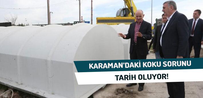 Karaman'daki Koku Sorunu Tarih Oluyor