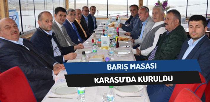 Barış Masası Karasu'da Kuruldu!