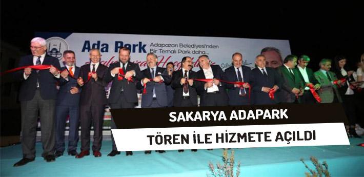 Adapark Törenle Hizmete Açıldı