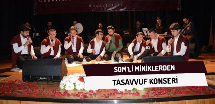SGM'li Miniklerden Tasavvuf Konseri