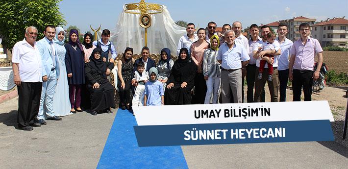 Umay Bilişim'in Sünnet Heyecanı
