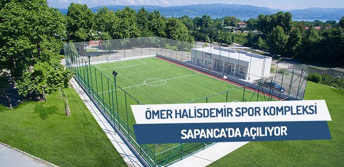 Ömer Halisdemir Spor Komleksi açılıyor