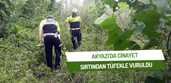 Akyazı'da cinayet