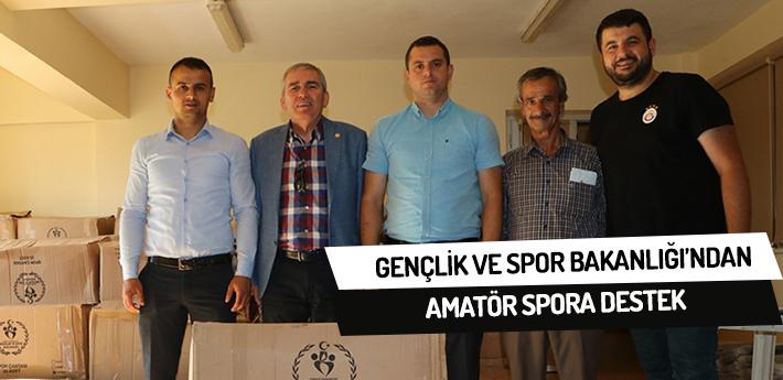 Gençlik ve Spor Bakanlığı'ndan amatör spora destek