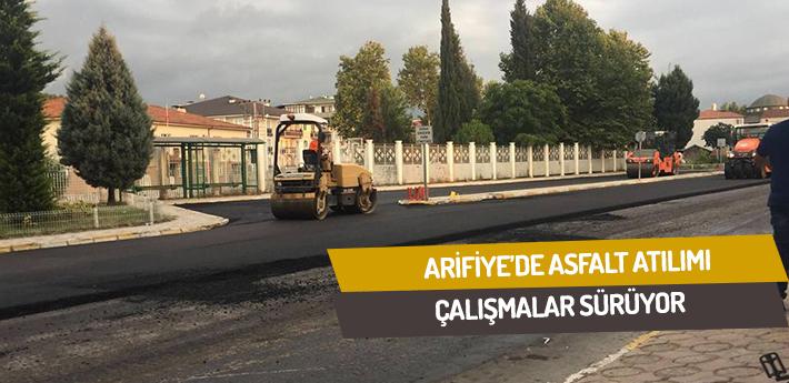 Arifiye'de asfalt atılımı