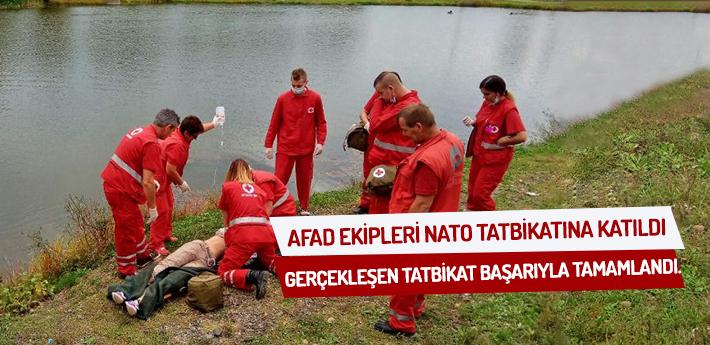 AFAD ekipleri NATO tatbikatına katıldı