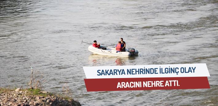Sakarya Nehrinde ilginç olay!