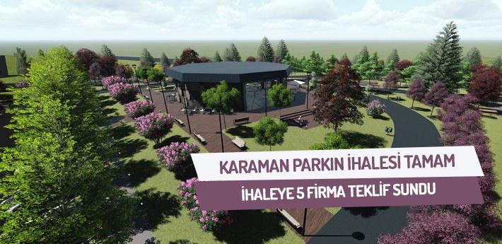 Karaman Park'ın ihalesi tamam