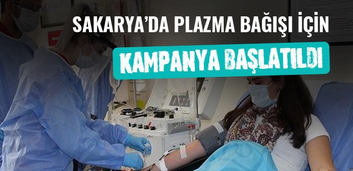 Sakarya'da plazma bağışı için kampanya başlatıldı