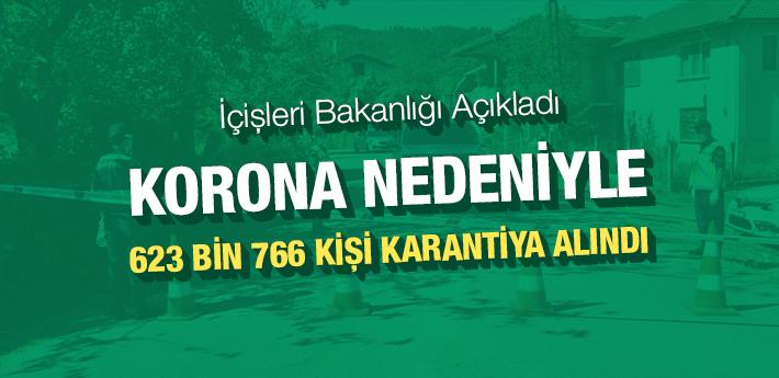 İçişleri Bakanlığı açıkladı! 83 yerleşim yerinde karantina var