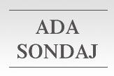 Ada Sondaj