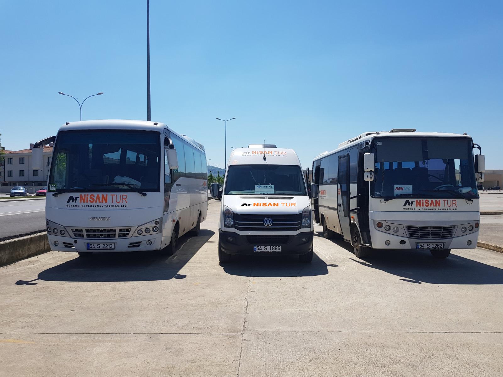 Nisan Tur Öğrenci ve Personel Taşımacılığı