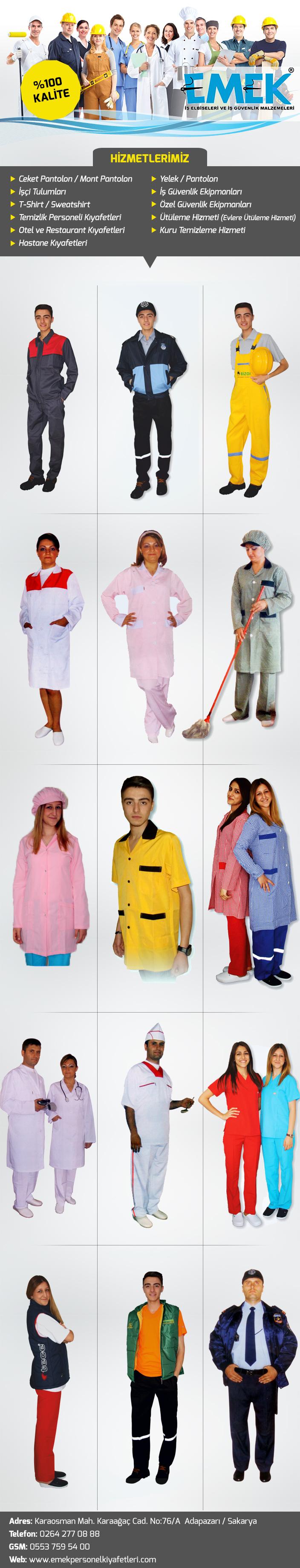 Emek İş Elbiseleri ve Tekstil Ürünleri