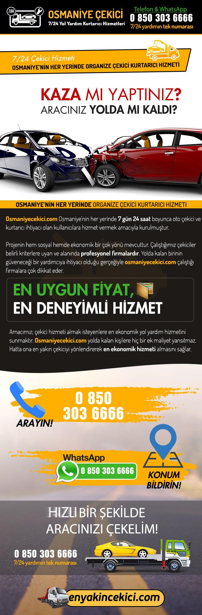 Osmaniye Oto Çekici