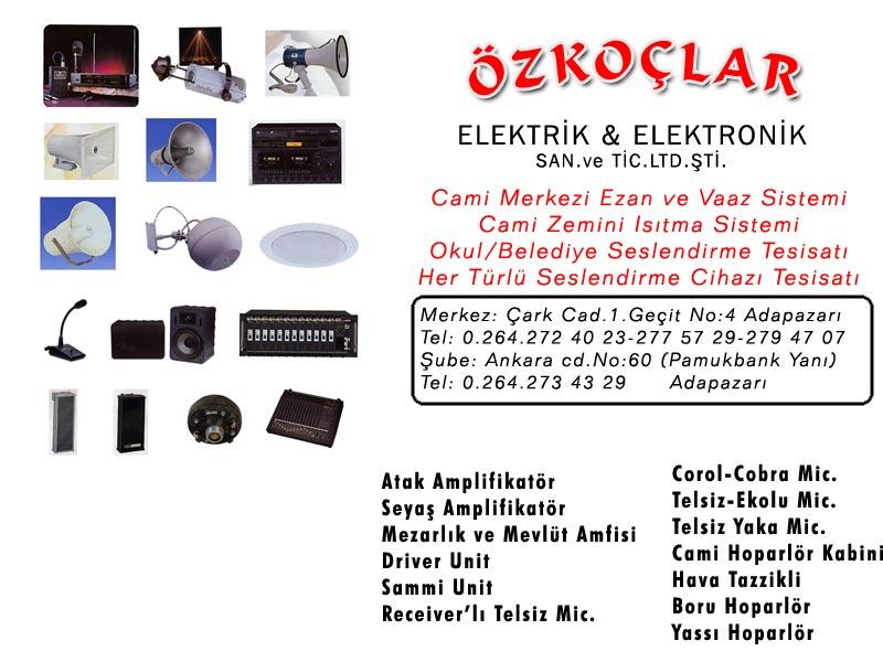 Özkoçlar Elektrik & Elektronik