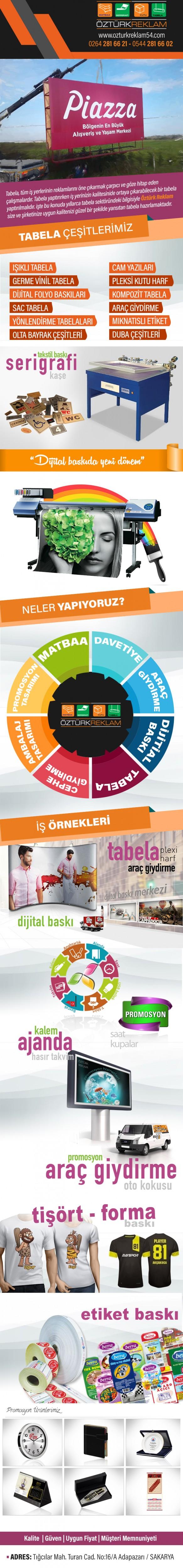 Öztürk Reklam Tabela