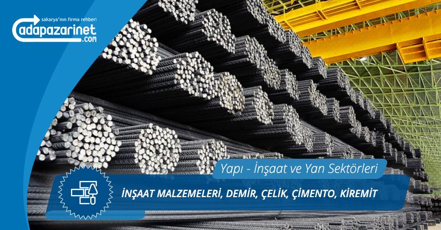 Sakarya İnşaat Malzemeleri, Demir, Çelik, Çimento, Kiremit