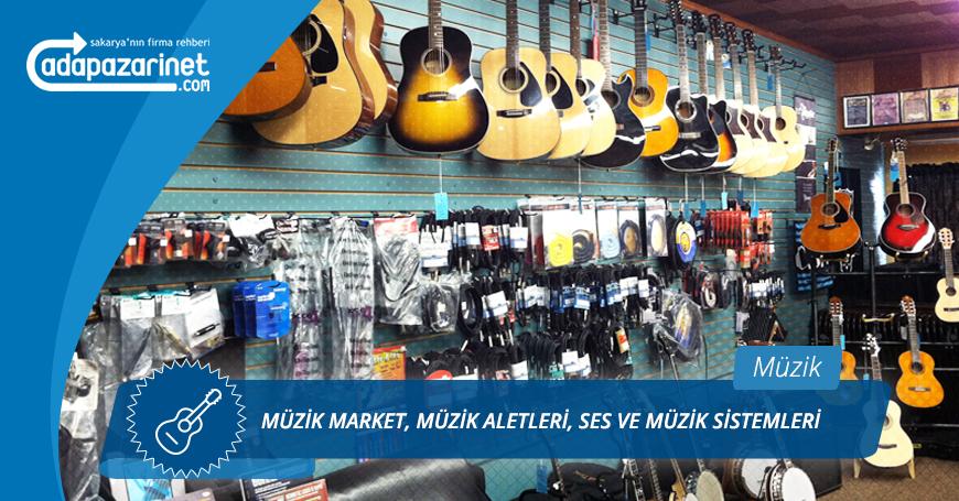 Sakarya Müzik Market, Müzik Aletleri, Ses ve Müzik Sistemleri