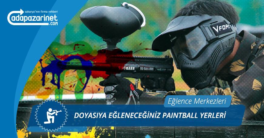 Sakarya Doğal Paintball Sahaları