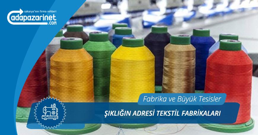 Sakarya Tekstil Fabrikaları