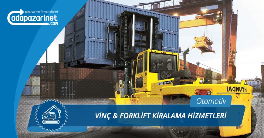 Sakarya Vinç, Forklift