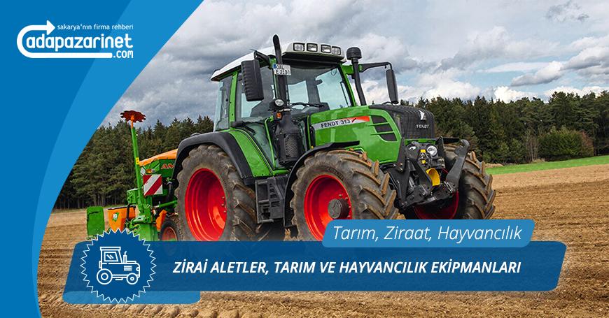 Pamukova Zirai Aletler, Tarım ve Hayvancılık Ekipmanları
